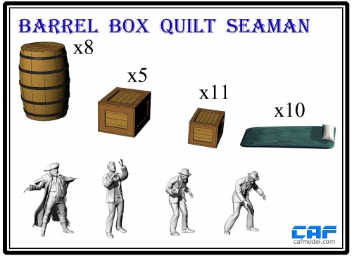 Barrel  Box Quilt  Seaman